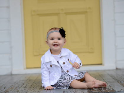 Lillian's 1 Year Old Photography Session