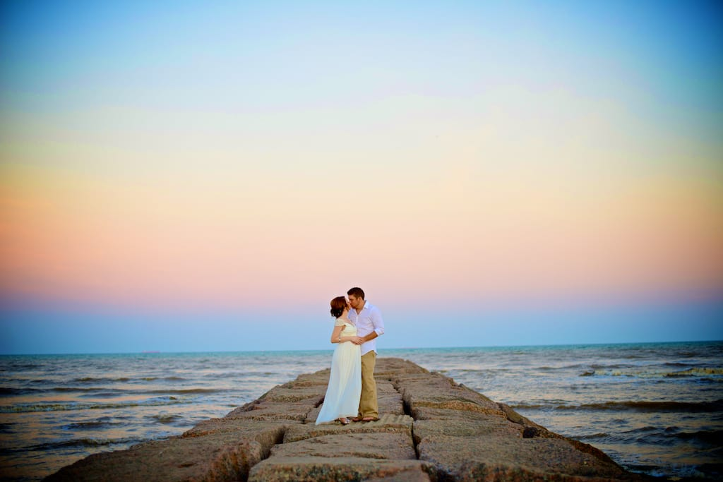 Galveston beach wedding for Texas beach wedding packages