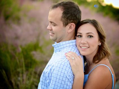 Shelia & Luke's Engagement Photography Portfolio – Sabine Promenade – Houston, TX