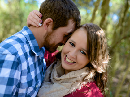 Ariel & Brandon's Engagement Photography Session – Challenger Seven Memorial Park – Webster, TX