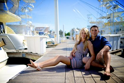 Lacey & Austin's Engagement Photography Portfolio – South Shore Harbor Marina, League City, TX