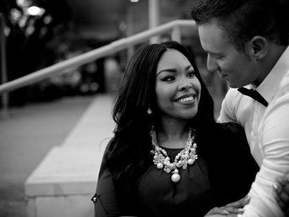 Dejanee & Mathew's Engagement Photography Portfolio – Discovery Green – Houston, TX