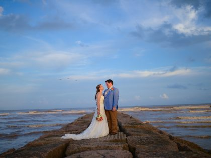 Taylor & Chase's Wedding Photography Portfolio – Galveston Beach – Galveston, TX