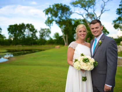Kodi & Travis' Wedding Photography Portfolio – Olde Dobbin Station – Dobbin, TX
