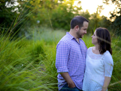 Lisa & Brent's Engagement Photography Portfolio – Hermann Park – Houston, TX