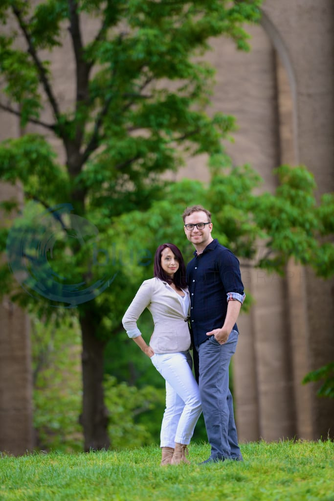 Astoria Park Queens NY Engagement wedding