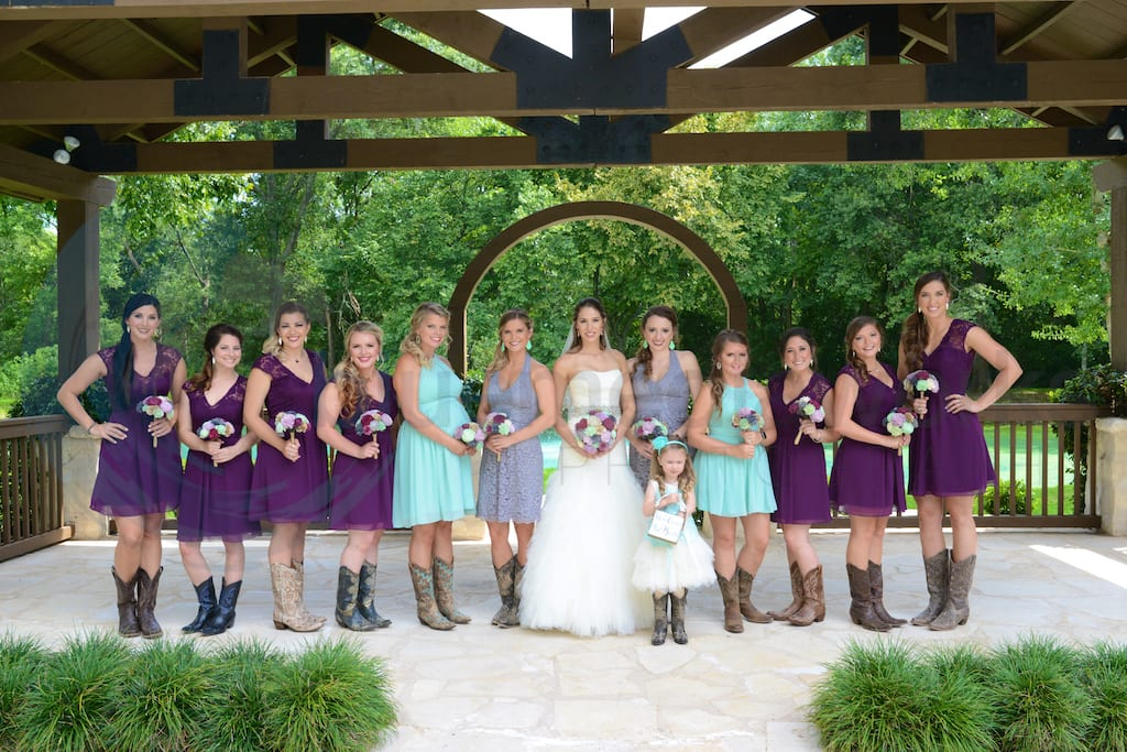 Spring Event Center Wedding