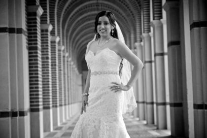 Grizelda's Bridal Photography Portfolio – Rice University – Houston, TX