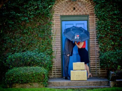 Amanda & Nikita's Engagement PhotographyPortfolio – The Black Labrador – Houston, TX