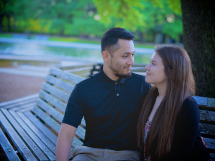 Eunice & Amando's Engagement Photography Portfolio – Hermann Park – Houston, TX