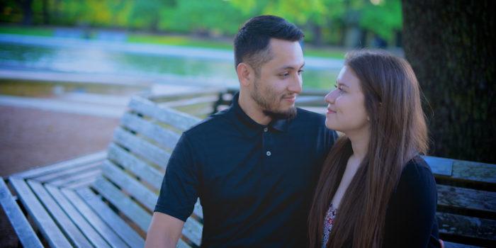 Eunice & Amando's Engagement PhotographyPortfolio – Hermann Park – Houston, TX