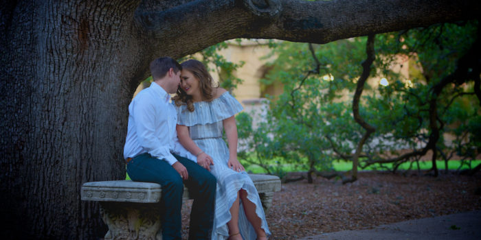 Mary & Tyler's Engagement Photography Portfolio – Texas A&M University – Century Tree – Kyle Field – College Station, TX