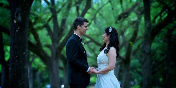 Judy & Cameron's Wedding Photography Portfolio – St. Anne's Catholic Church – Houston, TX