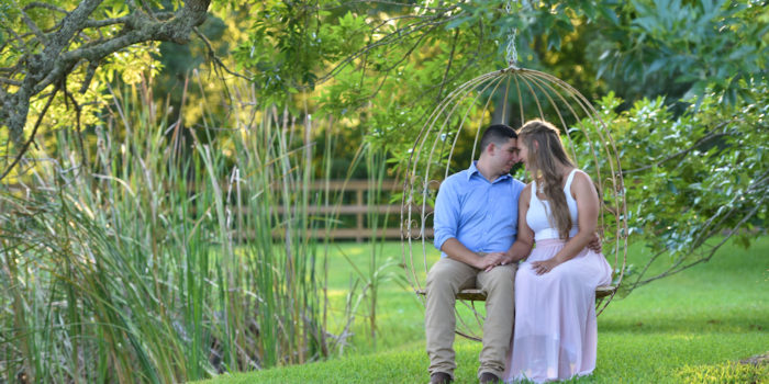 Taylor and Matt's Engagement Photography Portfolio – Sweet P Farms – Manvel, TX