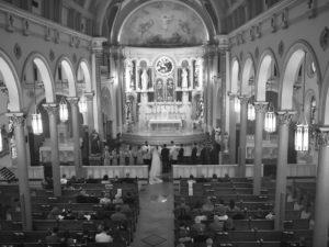 Liza & Hunter's Wedding Photography Portfolio – Annunciation Catholic Church & The Downtown Aquarium – Houston, TX