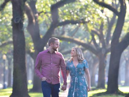 Abigail & Jeff's Engagement PhotographyPortfolio – South Boulevard– Houston, TX