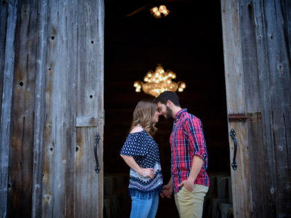 Mariah & Garrett's Engagement Photography Portfolio – The Pattison House – Pattison, TX