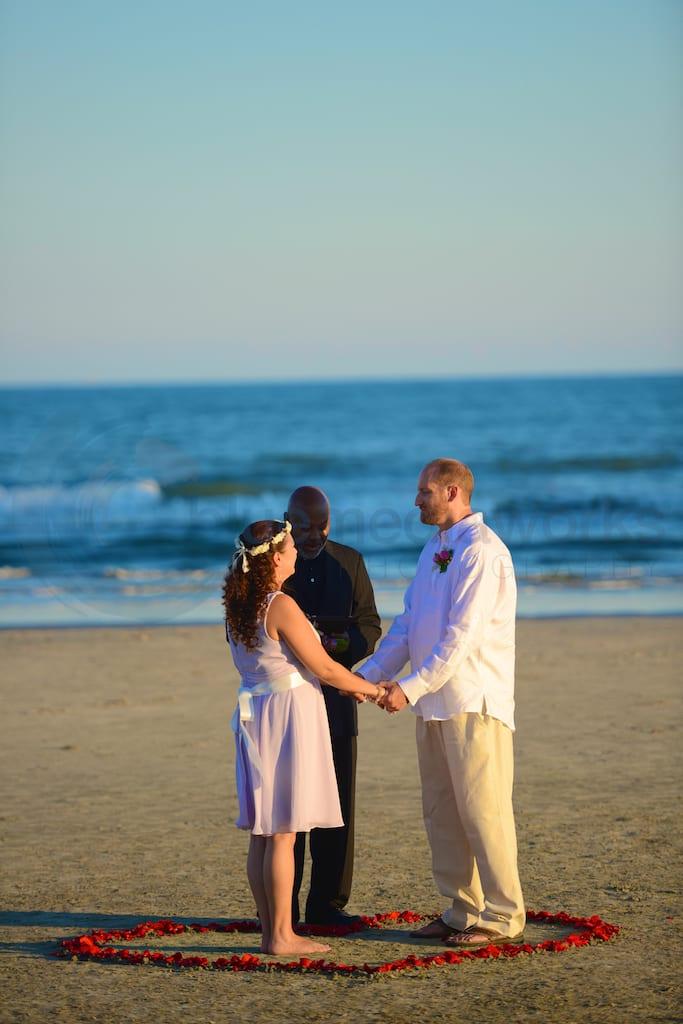 Beach Wedding Galveston Tx