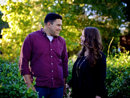 Kaitlyn & Thomas' Engagement Photography Portfolio – The Woodlands, TX – Town Green Park
