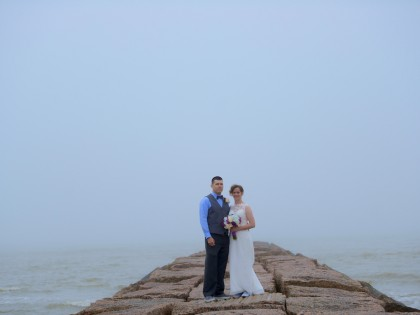 Chavonne & Zachariah's Wedding Photography Portfolio – 24th & Seawall Blvd – Galveston, TX
