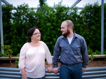 Janette & Michael's Engagement Photography Portfolio – McGovern Centennial Gardens – Houston, TX