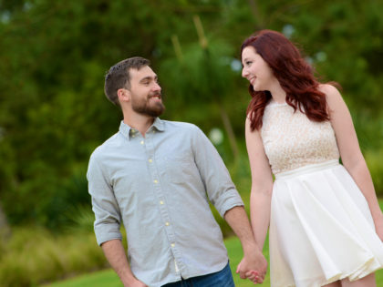 Kelsey & Kyle's Engagement Photography Portfolio – Hermann Park – Houston, TX