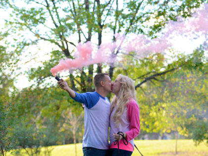 Krystle & Stephen's Gender Reveal Photography Portfolio – Hermann Park – Houston, TX