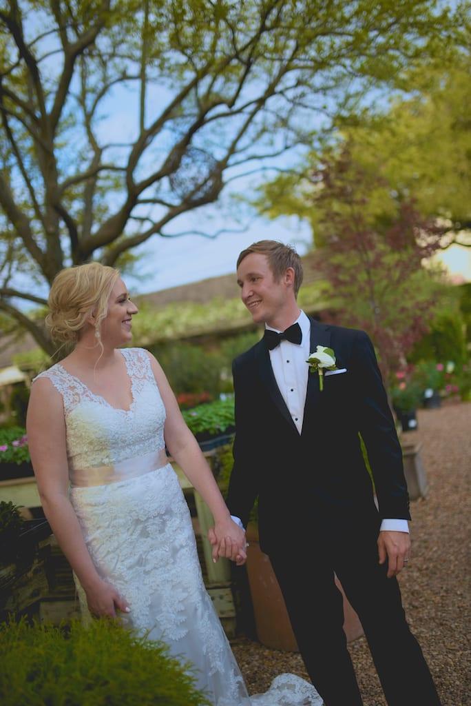Tiny Boxwoods Wedding