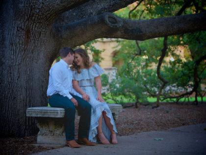 Mary & Tyler's Engagement PhotographyPortfolio – Texas A&M University – Century Tree – Kyle Field – College Station, TX