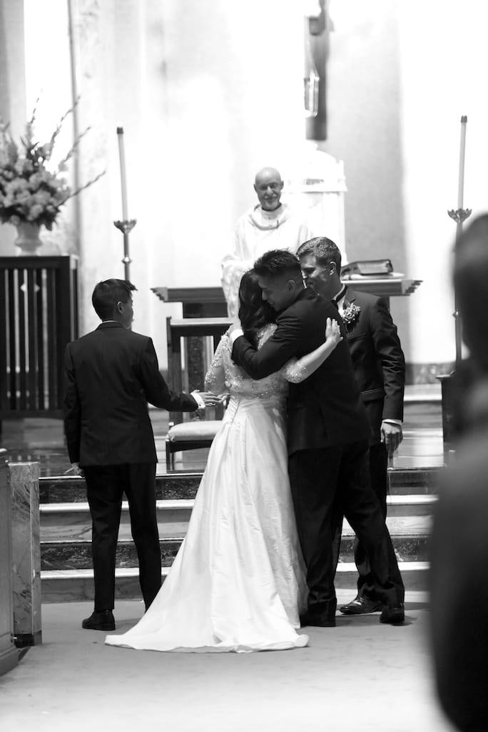 St. Anne's Catholic Church wedding
