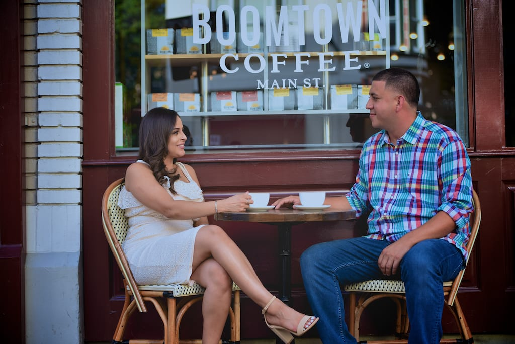 Downtown Houston Engagement Session