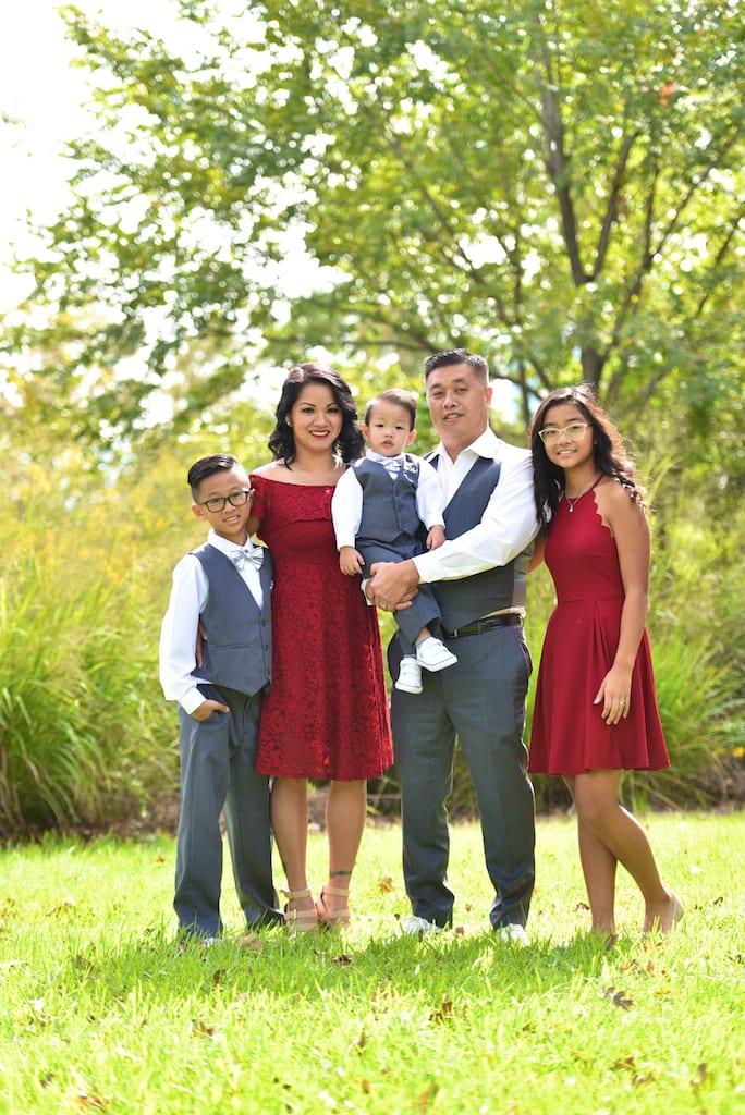 Hermann park Family Photo