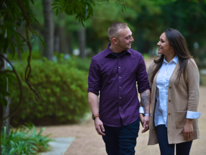 Elexis & Caleb 's Engagement Photography Portfolio – Hermann Park – Houston, TX
