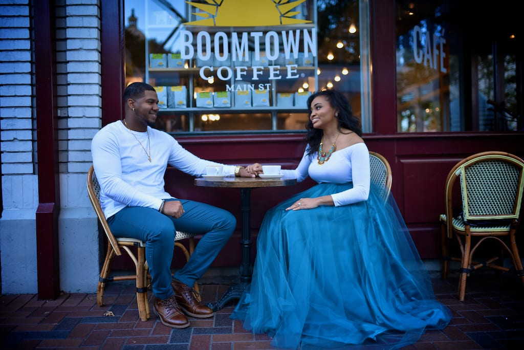 Prohibition Houston Engagement Session