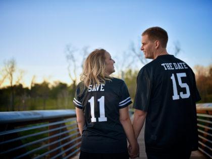 Liz & Ryan's Engagement Photography Portfolio – Buffalo Bayou Park – Houston, TX
