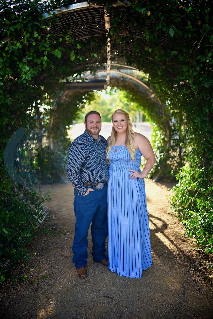 Engagement Photography Portfolio - Buffalo Bayou Park - Sabine Promenade
