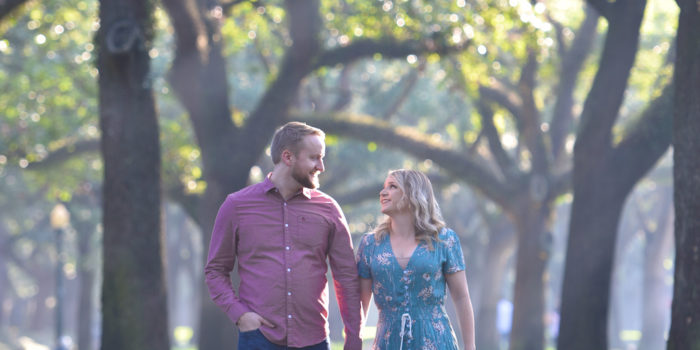 Abigail & Jeff's Engagement Photography Portfolio – South Boulevard – Houston, TX